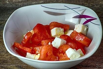 Wassermelonen-Feta Salat 11