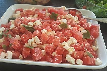 Wassermelonen-Feta Salat 23
