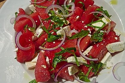 Wassermelonen-Feta Salat 5