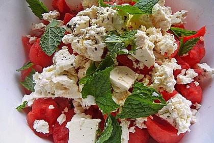 Wassermelonen-Feta Salat 3