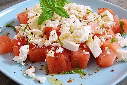 Wassermelonen-Feta Salat 7