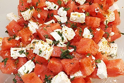 Wassermelonen-Feta Salat 13