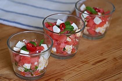 Wassermelonen-Feta Salat 2