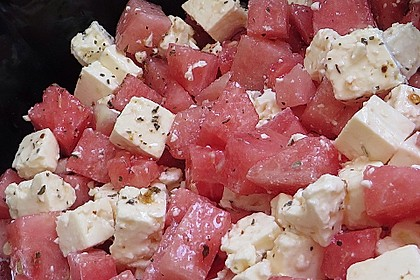 Wassermelonen-Feta Salat 22