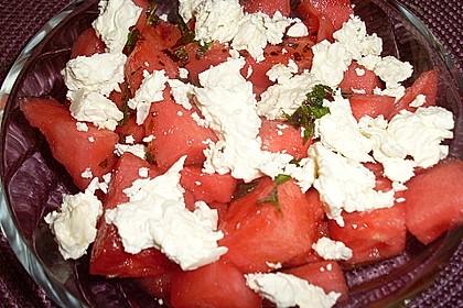 Wassermelonen-Feta Salat 14