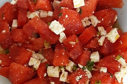 Wassermelonen-Feta Salat 25