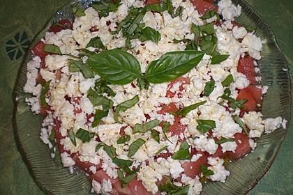 Wassermelonen-Feta Salat 27