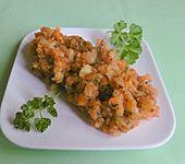 Gedämpfte Kartoffeln und Karotten (Bild)