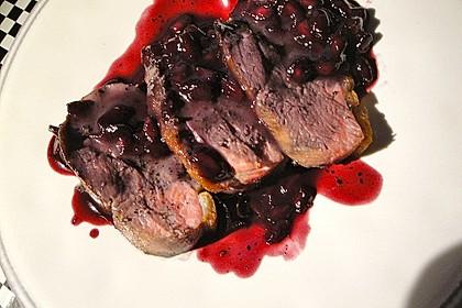Granatapfelsauce zu Ente und Wild (Bild)