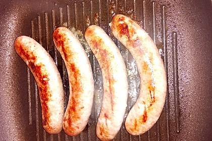 Bratwurst - ohne Qualm, Gestank und Spritzen (Bild)