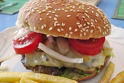 Double Cheeseburger mit Gruyère 2