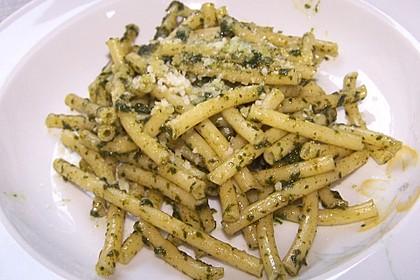 Spaghetti mit Basilikumpesto 1