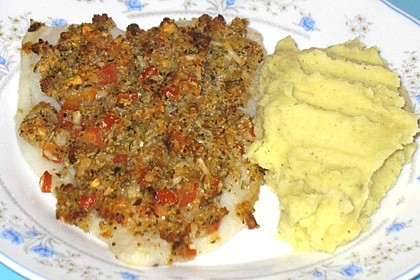 Fischfilet in Tomatenkruste (Bild)