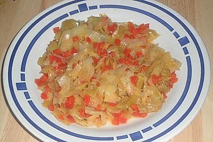 Spitzkohl-Möhrengemüse 2