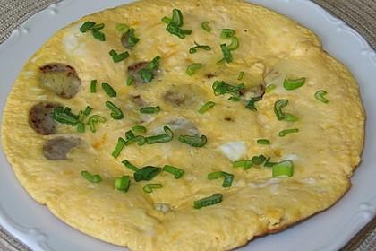 Bratwurst-Omelett 1