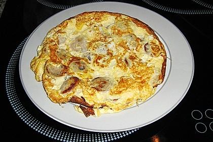 Bratwurst-Omelett 3