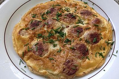 Bratwurst-Omelett 2