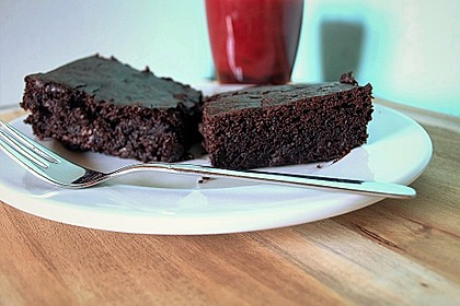 Vegane Brownies (Bild)