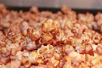 Buntes Karamell-Popcorn 1