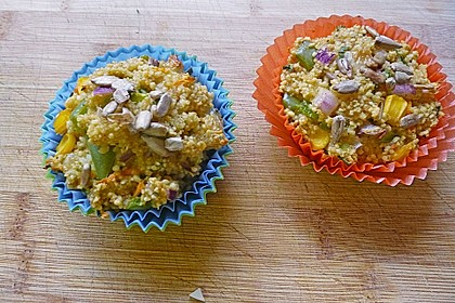 Couscous-Muffin
