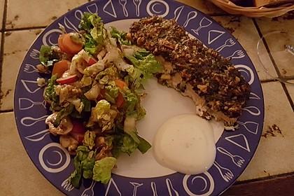 Lachs mit Parmesan-Kräuter-Walnuss-Kruste 62