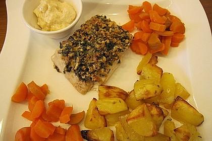 Lachs mit Parmesan-Kräuter-Walnuss-Kruste 37
