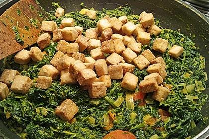 Grundrezept für knusprig gebratenen Tofu 9