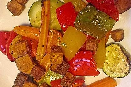 Grundrezept für knusprig gebratenen Tofu 12