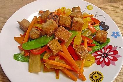 Grundrezept für knusprig gebratenen Tofu 3