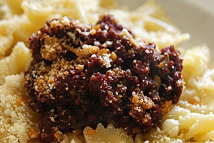Spaghetti mit Chili-Knoblauch-Sauce