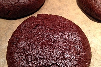 Leckere dunkle Chocolate Cookies 1