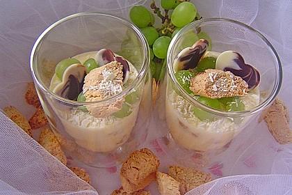 Tiramisu von Cantuccini und weißer Schokolade 1