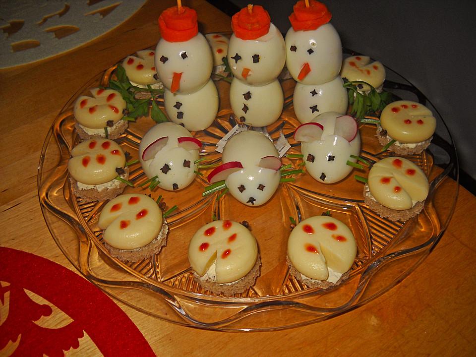 Gekochte Eier Bemalen : eier schneemann von moosmutzel311 chefkoch ~ Watch28wear.com Haus und Dekorationen