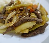 Rindfleisch mit Gemüse (Bild)