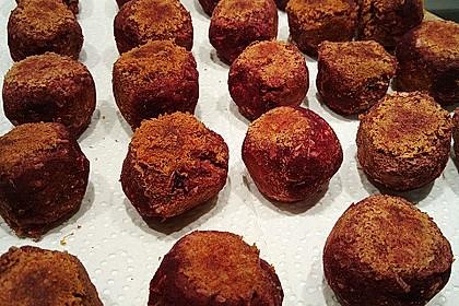 Rote Bete-Kokos Bällchen 1