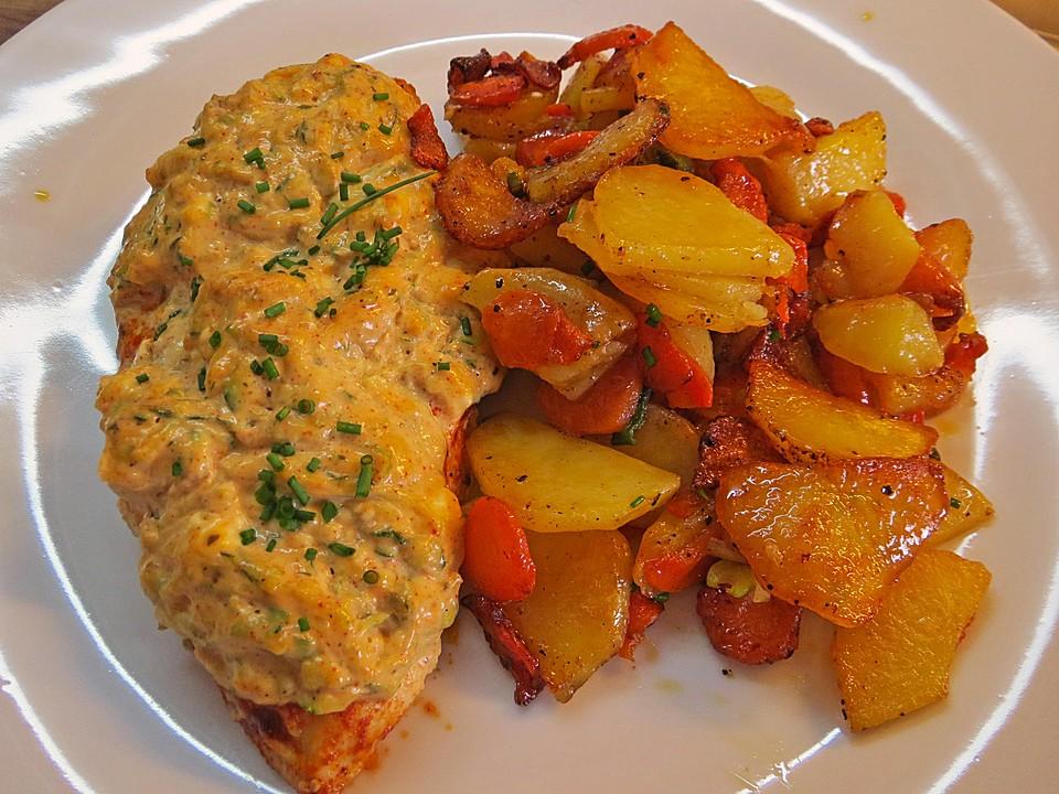 Beliebt Bevorzugt Schnitzel unter Feta-Zucchini-Haube von riga53 | Chefkoch @OH_27