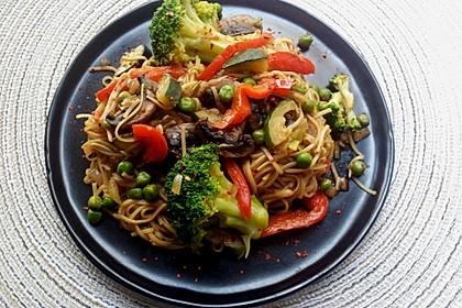 Asiatische Gemüse-Bratnudeln 1