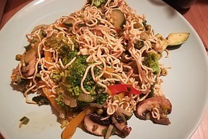 Asiatische Gemüse-Bratnudeln 2