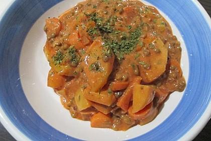Kartoffelgulasch mit Linsen 12