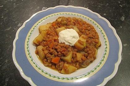Kartoffelgulasch mit Linsen 27