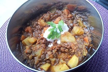 Kartoffelgulasch mit Linsen 15