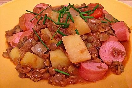 Kartoffelgulasch mit Linsen 24