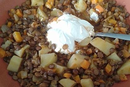 Kartoffelgulasch mit Linsen 19