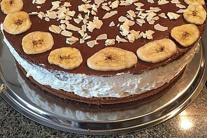 Schokoladen - Bananen Torte 33