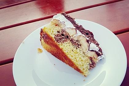 Schokoladen - Bananen Torte 21