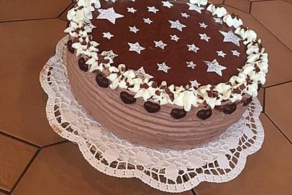 Schokoladen - Bananen Torte 7