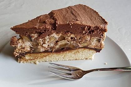 Schokoladen - Bananen Torte 46