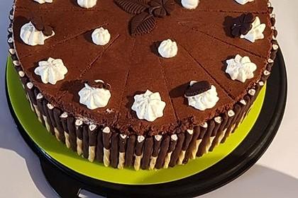 Schokoladen - Bananen Torte 20