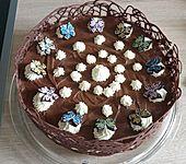 Schokoladen - Bananen Torte (Bild)