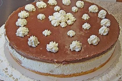 Schokoladen - Bananen Torte 37